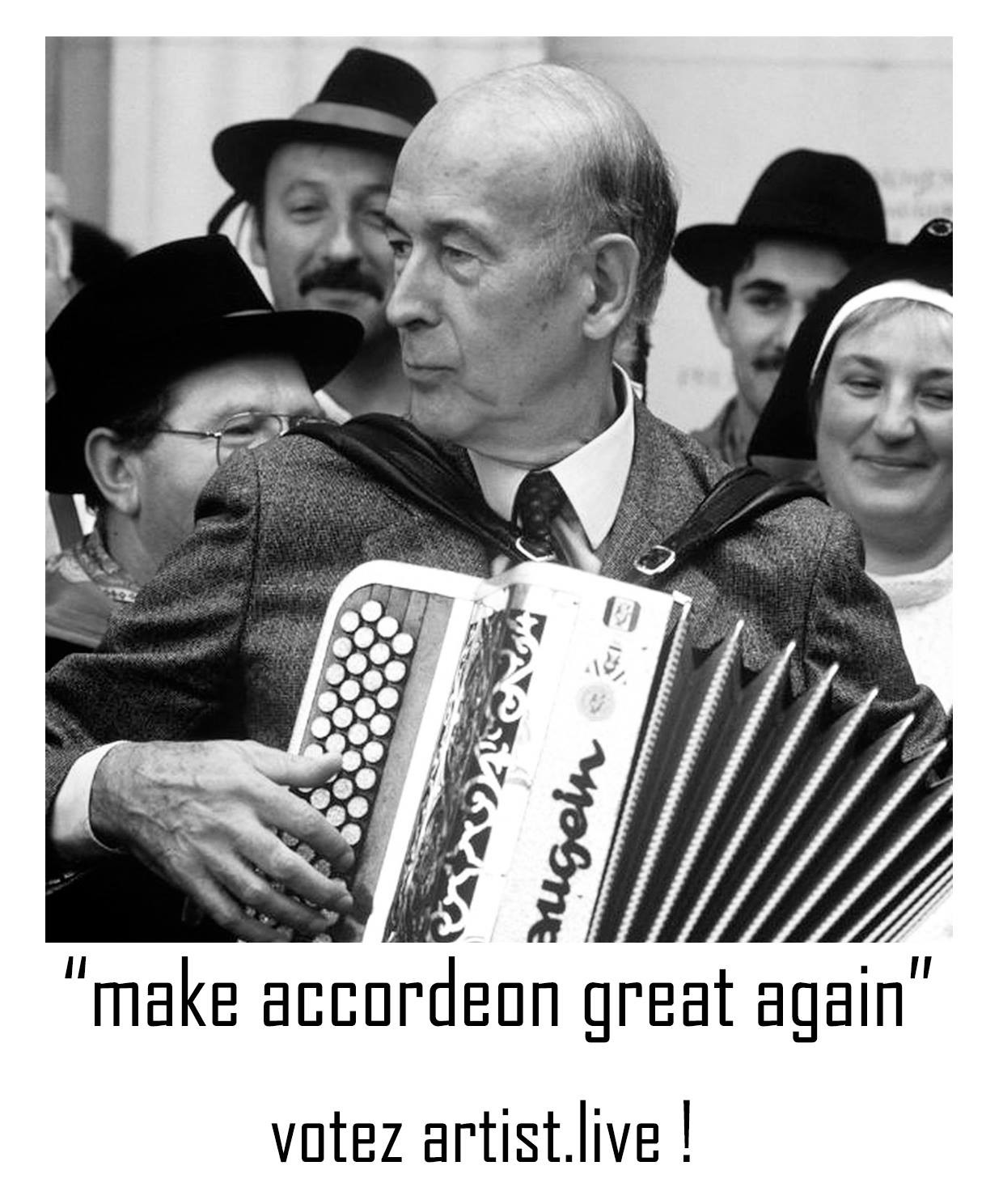 make accordeon great again